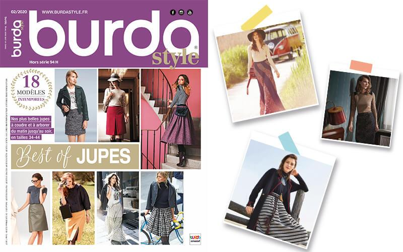 Burda Style best of jupes est sorti !